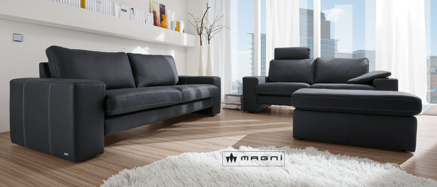 magni hochwertige lederm bel g nstig ledergarnituren sofa couch sessel lederm bel. Black Bedroom Furniture Sets. Home Design Ideas